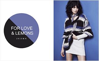 For Love & Lemons - 2015秋冬