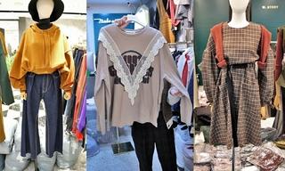 蕾丝|格纹|卫衣:韩国东大门初秋零售分析