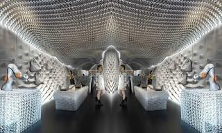 英国奢侈品牌Bottletop借3D打印打造环保的门店装饰&奢侈店合集