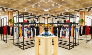 Sneakersnstuff在纽约开设第一家美国店&Bluegene Bop复古潮流