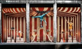 Tod's打造名导费里尼的马戏团世界&Hermès纸制城堡