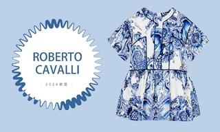 Roberto Cavalli - 巴洛克的浪漫延伸(2018春夏)