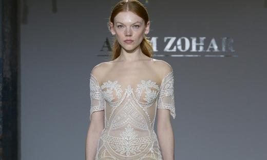 2019春夏婚纱[Adam Zohar]纽约时装发布会