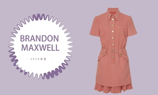 Brandon Maxwell - 欢乐的粉红女郎(2019春夏预售款)