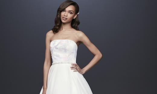 2019春夏婚纱[David's Bridal]纽约时装发布会