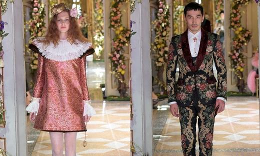 2018秋冬高级定制[Dolce & Gabbana]米兰时装发布会