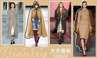2020秋冬廓型:大衣指標