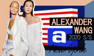 Alexander Wang:致敬90S設計師(2020春夏)