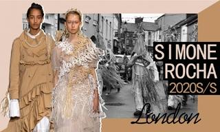 Simone Rocha:愛爾蘭鷦鷯少女(2020春夏)