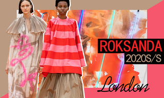 Roksanda:霓虹下的城市漫游(2020春夏)