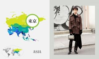 一月日本时尚街拍(上)