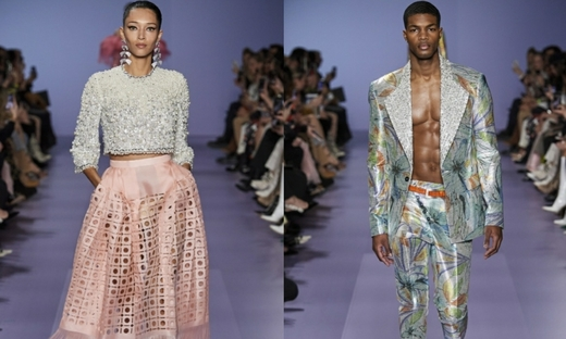 2020春夏高级定制[Georges Hobeika]巴黎时装发布会