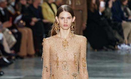 2020春夏高级定制[Schiaparelli]巴黎时装发布会