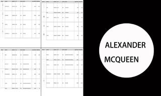 Alexander McQueen -2020/21秋冬訂貨會(3.8)