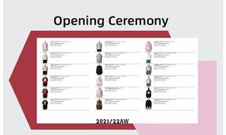 Opening Ceremony - 2021/22秋冬订货会